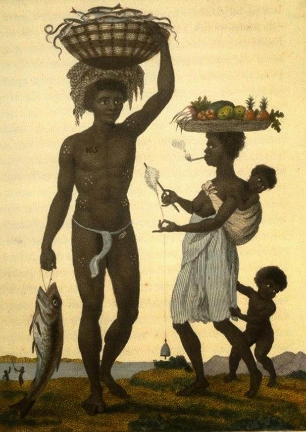 Brazilian Family in the 1800s