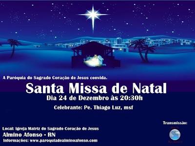 Santa Missa de Natal em Almino Afonso
