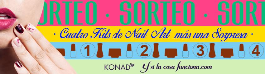Sorteo Nail Art Stamping KONAD