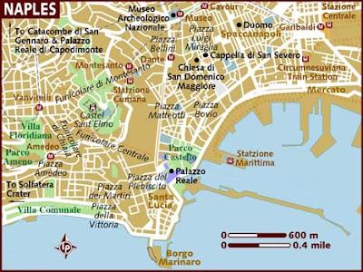 Mappa Politica di Napoli