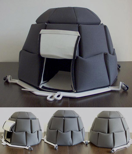 I-gloobox Tent For Homeless People. Bulgarian designer Georgi Djongarski makes an unique tent for homeless people. Called I-gloobox It is made of thick ... & coolpics: 7 Coolest Tents Ever