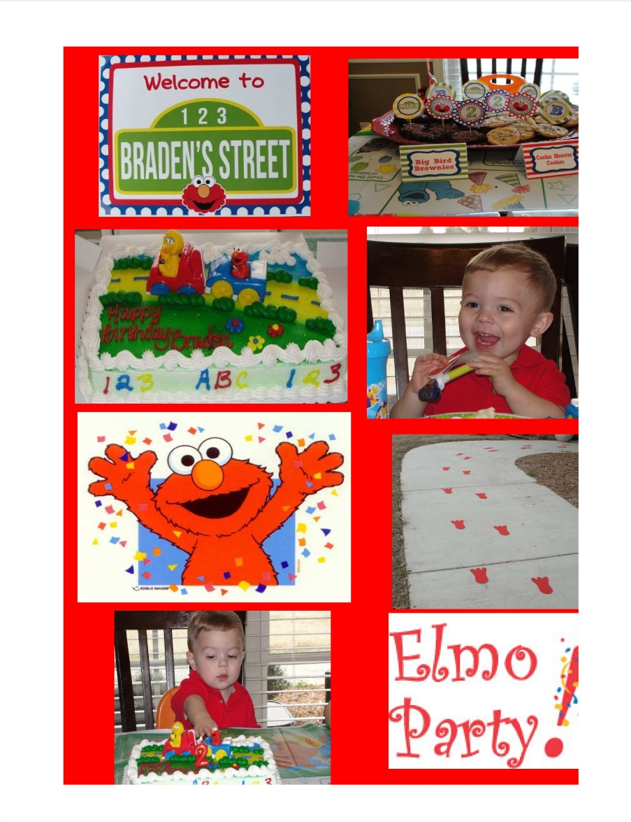 Elmo Decoration Ideas