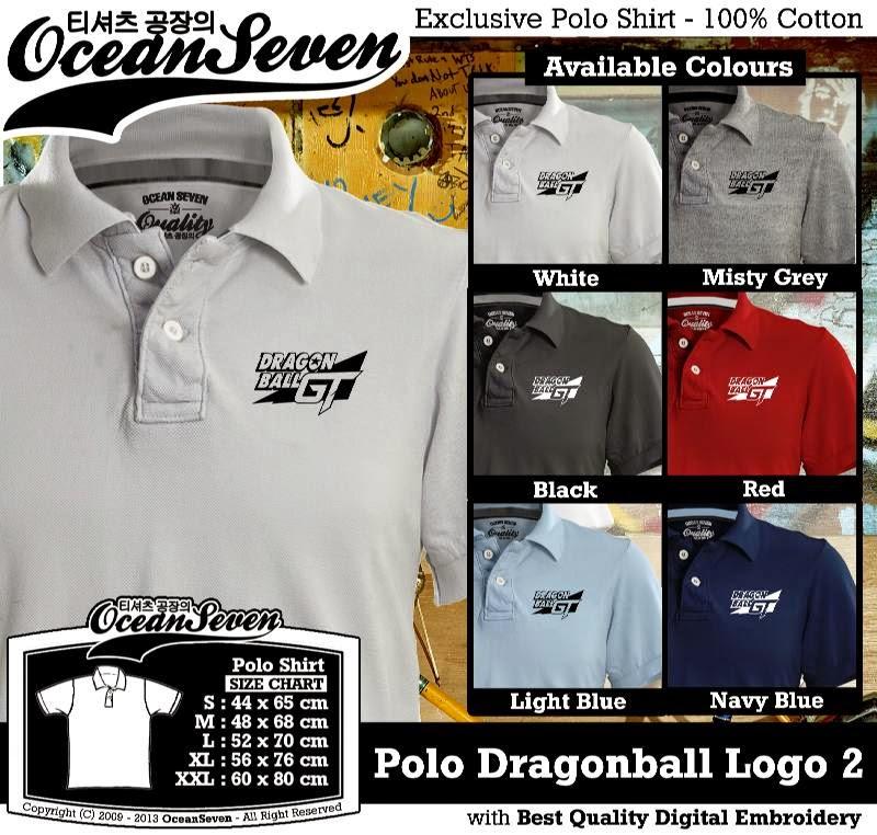 Kaos Polo Dragonball Logo 2