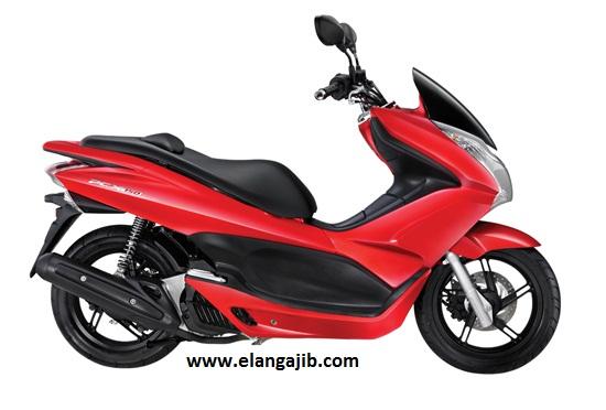 Pilihan Warna Motor Matic Honda PCX warna merah