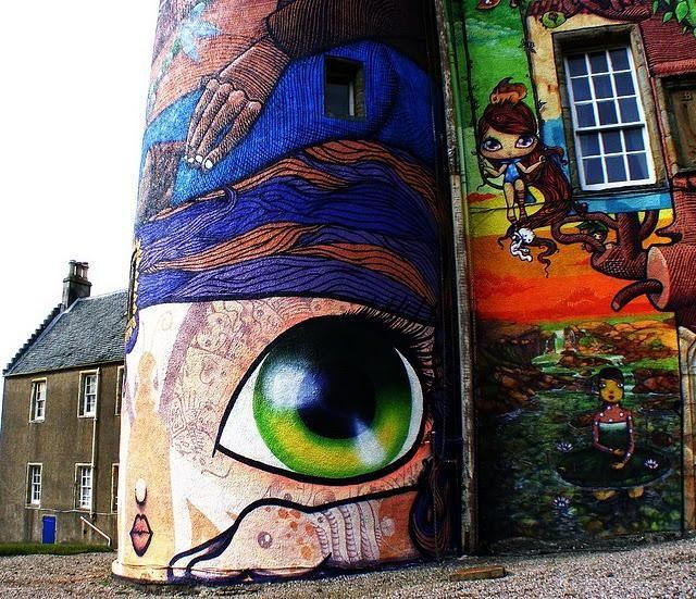 Colorful Kelburn Castle Seen On www.coolpicturegallery.us