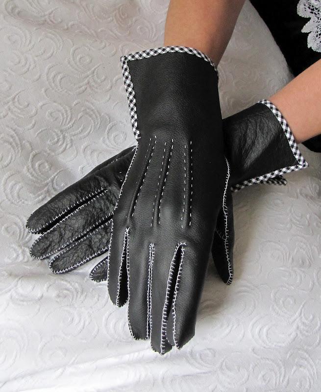 Женские перчатки длинные своими руками