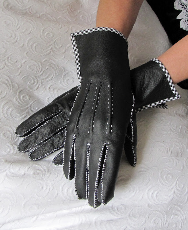 Of Dreams and Seams: 1950\'s Hand-Sewn Leather Gloves