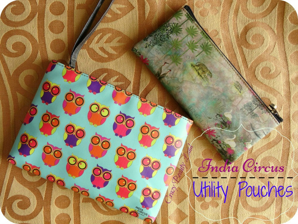 Utility Pouches from India Circus
