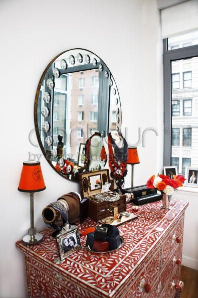 Olivia Palermo Apartment - interior decorating accessories