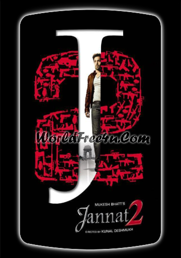 Poster Of Bollywood Movie Jannat 2 (2012) 300MB Compressed Small Size Pc Movie Free Download worldfree4u.com