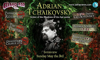 Don't miss Adrian Tchaikovsky's interview on May the 3rd!