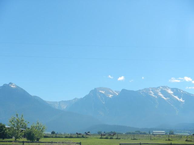 Mission Mountain Range St. Ignatius Montana