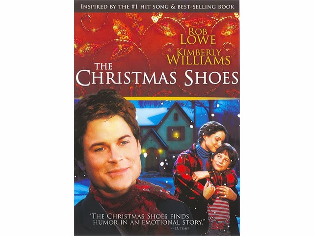 todays discussion is going to be on the 2002 film the christmas shoes which stars rob lowe kimberley williams paisley max moore maria del mar - Red Shoes Christmas Song