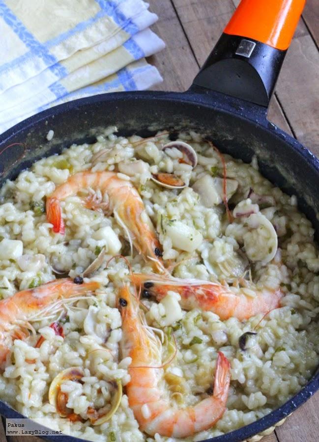 Paella en sarten - Lazy blog cocina ...