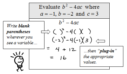 what four steps should be used in evaluating expressions Evaluating expressions the order of operations lesson 1  warm up/do now objective : swbat indentify and begin to follow the order of operations when.