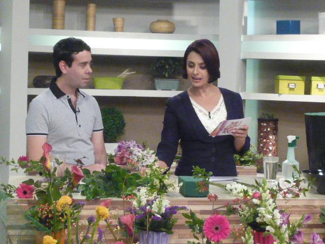 TV Gazeta Ikebana de Primavera com Katia Fonseca.