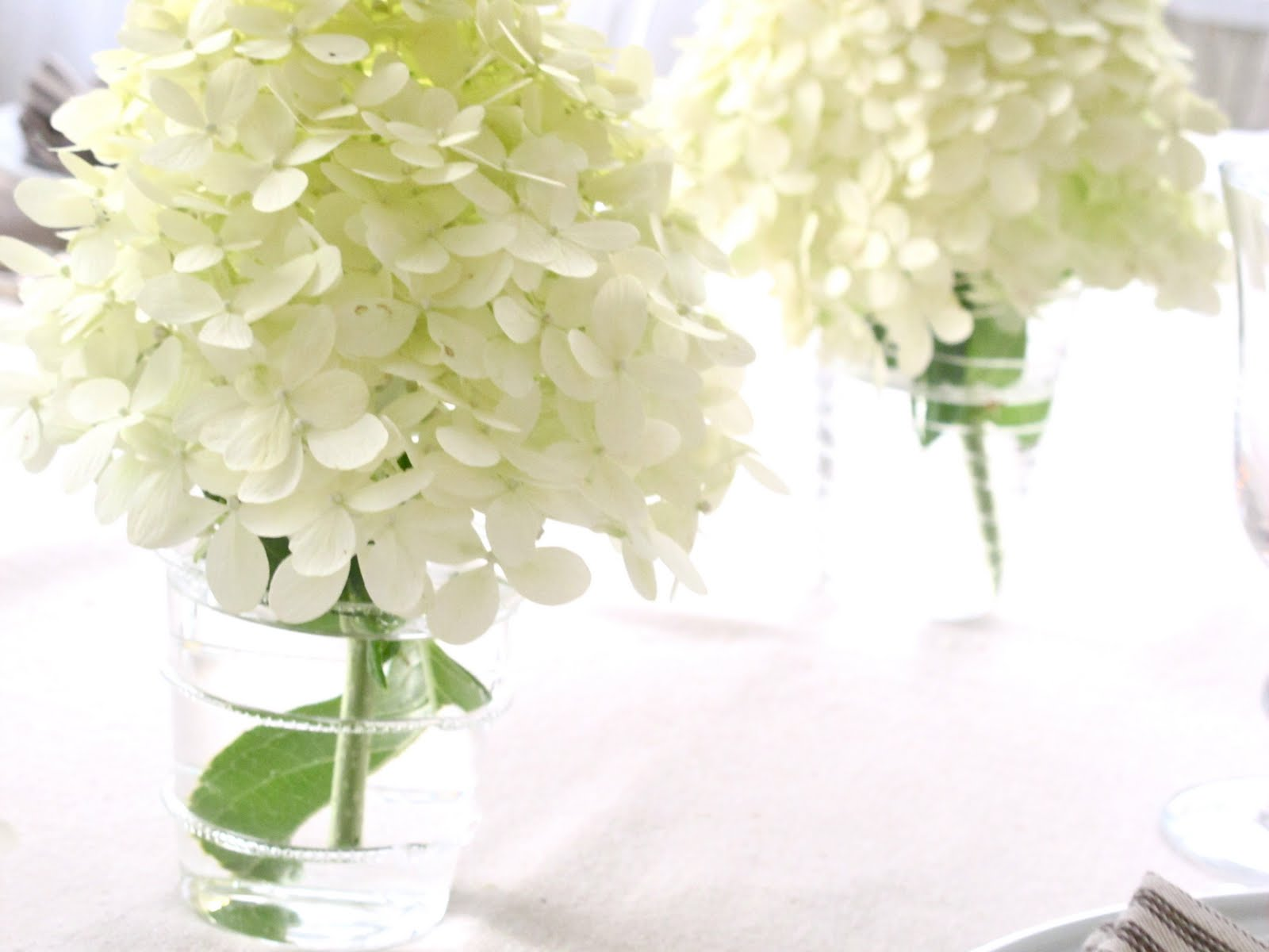 Jenny Steffens Hobick: Hydrangea Season | 3 Easy Centerpieces using ...