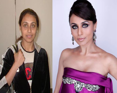 Rani Mukherjee without makeup