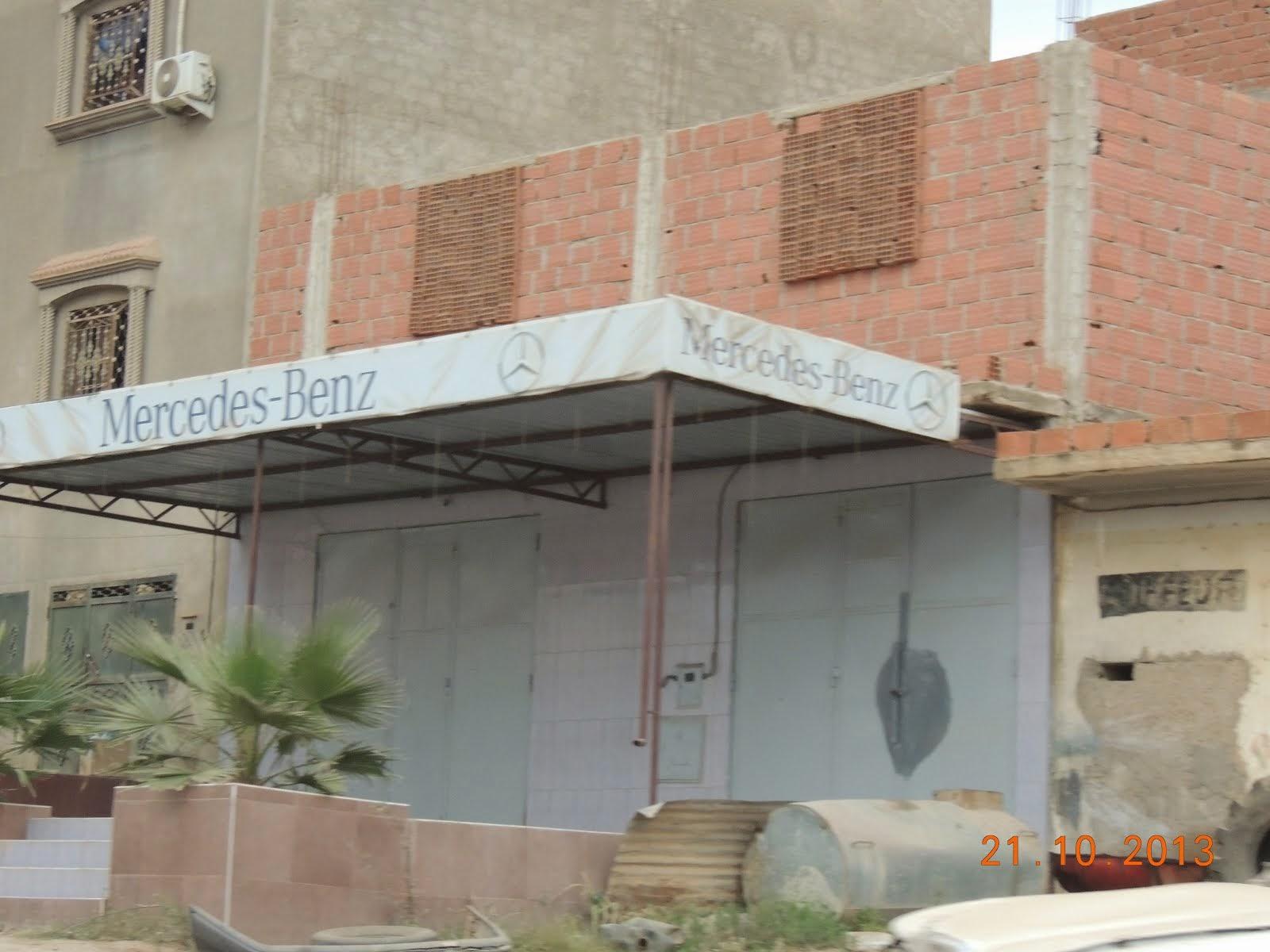 Une filialede Mercedes en Algérie ?