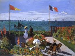 Monet Garden at Sainte-Adresse