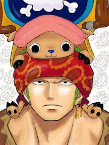 ONE PIECE Zoro Chopper