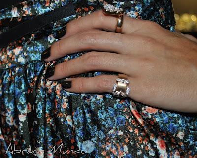 vários tipos de anel na Fortunata Accessori