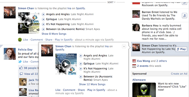 Facebooks Listen With Music Play