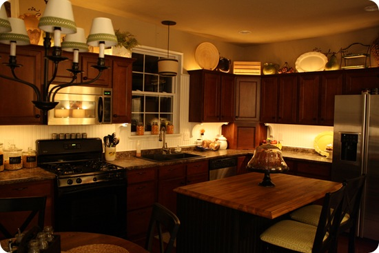 The rome is our new home mood lightening for your kitchen for How much does it cost to build a wet bar