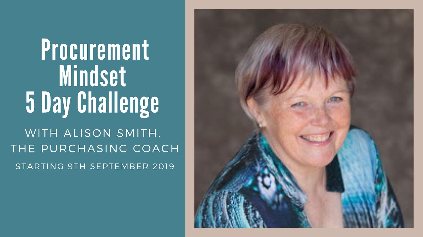 Procurement Mindset Challenge