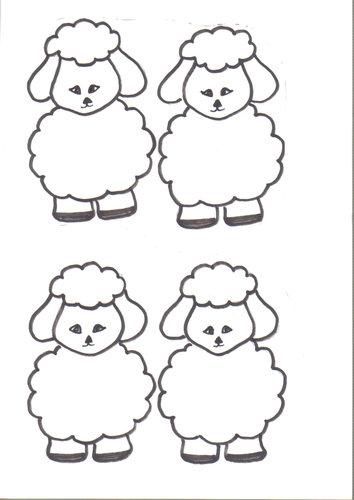 O Pastor e as Ovelhas para colorir MINISTÉRIO BÍBLICO  - imagens para colorir de jesus com ovelhas