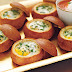 Baked Eggs in Bread Bowls Breakfast
