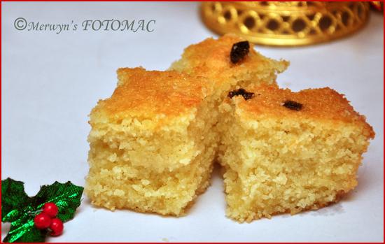 Goan Baath Cake Recipe With Desiccated Coconut
