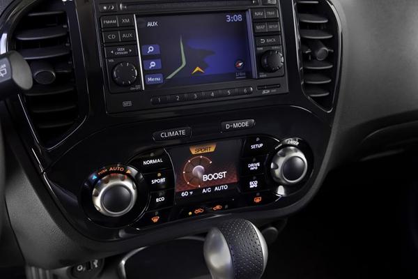 Bentuk Dashbord Mobil Nissan juke cvt