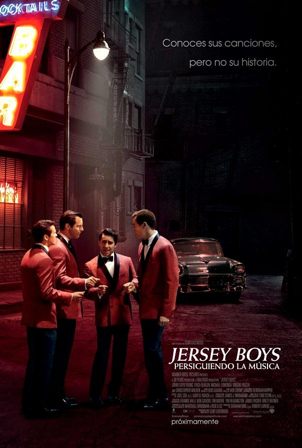 Cartel/Póster de Jersey Boys