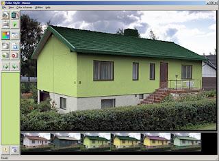Programma per simulare la tinteggiatura di pareti il miglior software per - Simulazione colore esterno casa ...