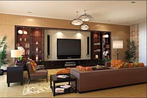 Desain ruang keluarga minimalis 9