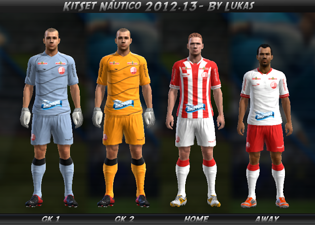 KITSET DO NÁUTICO - PES 2013
