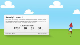 Ready2Launch Blogger Template