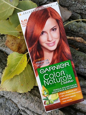 Garnier Color Naturals Creme | 6.46 Miedziana Czerwień