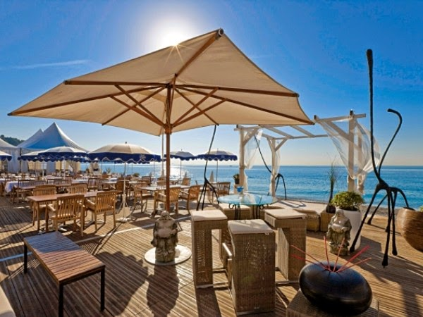 Beach Restaurants Nice - South France Villas