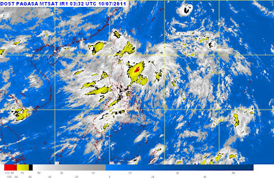 PAGASA Weather Forecast — Tropical Depression Goring (Bagyong Goring