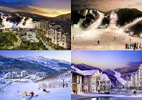 Ski Resort Korea
