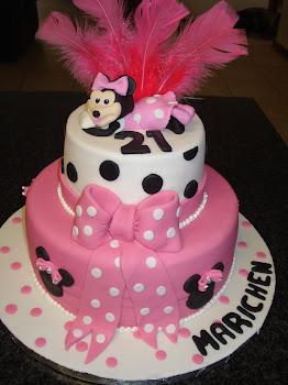 Marichen's Minnie Mouse cake