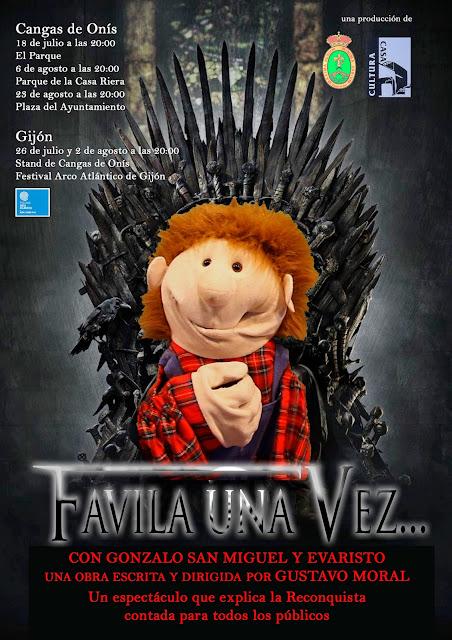 Asturias con niños: Favila una vez, teatro gratis en Onís