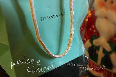 pendente piastrina a cuore di Tiffany - è dentro al sacchetto
