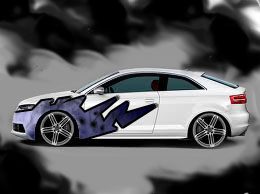 Car Decals For Audi S3 Usa With Tribal Style 1 Redgage
