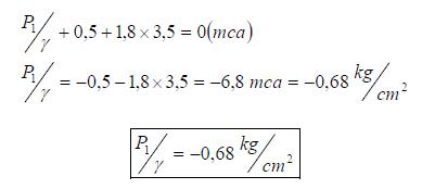 Ejercicio resuelto de estatica de fluidos manometro y vacuometro formula 1 problema 3