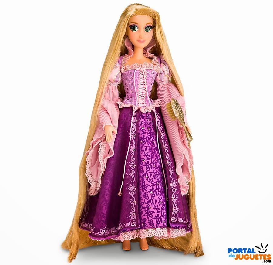 muñeca rapunzel edicion limitada