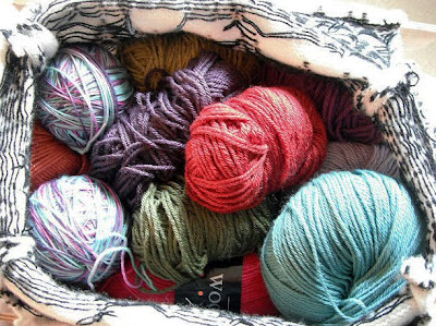 4ply yarn stash
