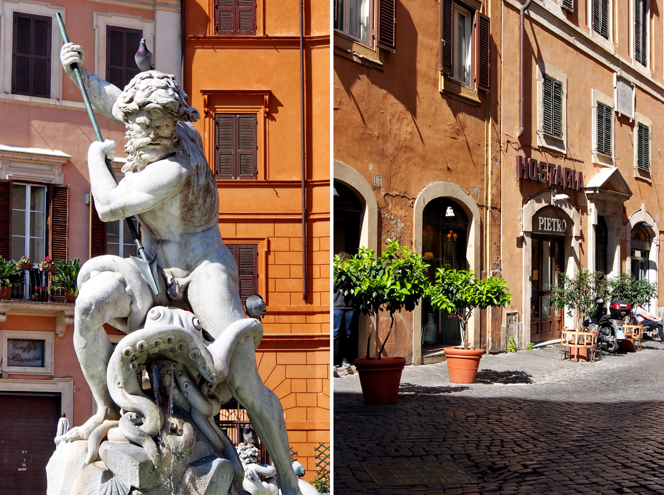 """Roms Altstadt – Ein Sehenswürdigkeiten-Rundumschlag // Piazza Navona - """"Fee ist mein Name"""""""